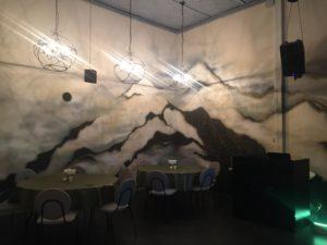 Роспись стены. Ресторанчик Опера. Балашиха